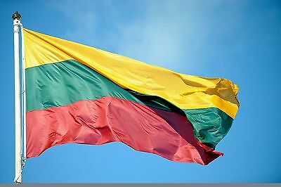 Lithuanian Flags 3x5FT/90*150cm Hanging Lithuania flag ba Festival decor outdoor