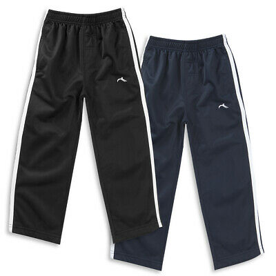 Infant Kids Boys Sports Joggers Jogging Tracksuit Bottoms Pants PE Kit 2-13 Year