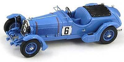 Alfa Romeo 8C No 6 (Le Mans 1934) Resin Model Car S3887