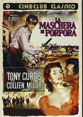 The Purple Mask NEW PAL Classic DVD H. Bruce Humberstone Tony Curtis C. Miller