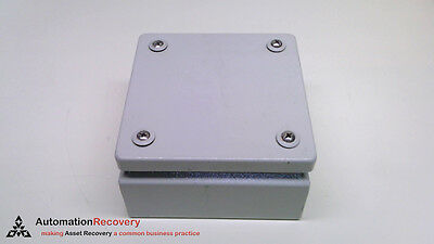 Rittal Kl 1514.510, Terminal Box Without Flange, 150 X 150 X 80, #218253