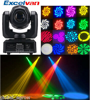 30W DMX LED Spot Moving Head Light Professional DJ Club Stage Party Disco Lights