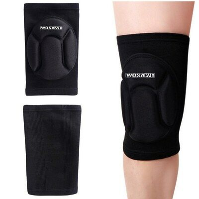 Hot Sports Leg Knee Patella Support Brace Wrap Protector Black Pad Sleeve Guard
