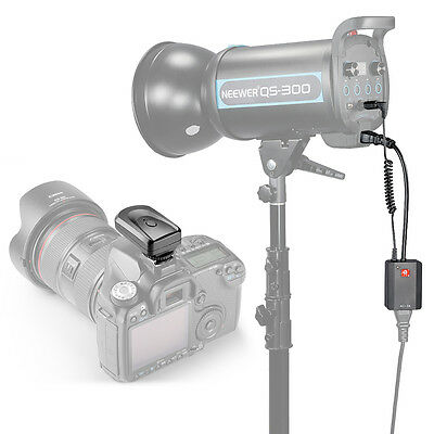 Neewer 4 Channel Wireless Studio Flash Trigger Set with Receiver for Canon