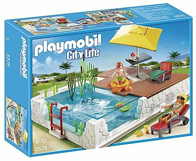 Playmobil Swimming Pool with Terrace 5575