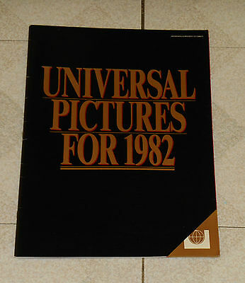 1982 UNIVERSAL PICTURES ADVERTISING MANUAL The Thing E.T. Conan Halloween III