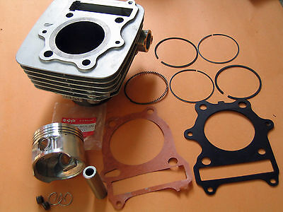 Cylinder kit 72mm Bore for Suzuki GN250 LT250 GZ250 with Piston Rings Gaskets