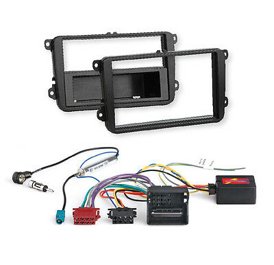 SKODA Roomster (5J); Car Radio Installation Set HIT faceplate + Can-Bus Adapter