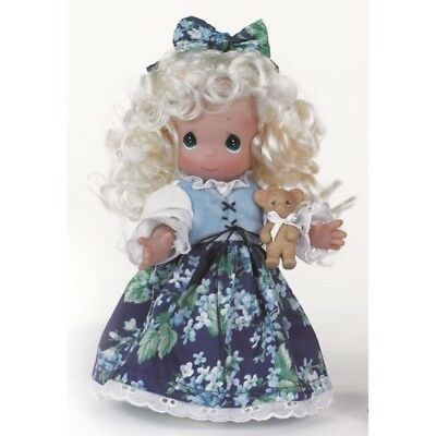Precious Moments 9 Inch Doll, 'Goldilocks', Blonde, New in Box with Tag, 3510
