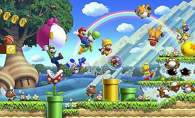 Super Mario Poster - A3 Size 297X420Mm - Buy 2 Get A 3Rd Free! (1) Uk Seller