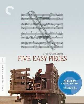 Five Easy Pieces (Criterion Collection) [New Blu-ray] Subtitled, Widescreen
