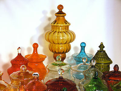 Vintage lidded jars - Apothecary Jar Collection