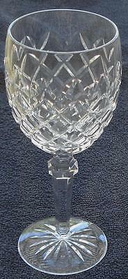 Waterford Crystal Powerscourt Water Goblet - Cut Crystal - VGC - GREAT PIECE