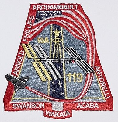 Aufnäher Patch Raumfahrt NASA STS-119 Space Shuttle Discovery ..........A3234
