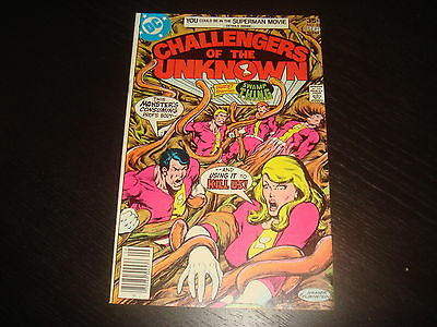 CHALLENGERS OF THE UNKNOWN #82 DC Comics 1977  VF/NM nice grade!