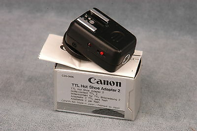 Canon Ttl Hot Shoe Adapter 2 - Nos, Nib (Cz6-0996)