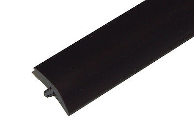 20ft of 1/2 Black T-Molding for Arcade Games, Mame Machine, or Cabinets
