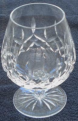 "Waterford Crystal Signed Lismore 5"" Brandy - Cut Crystal - VGC - GREAT PIECE"