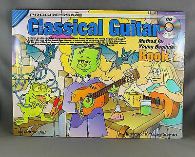 Progressive Classical Guitar Method for Young Beginners Book 2 - Songbook & CD