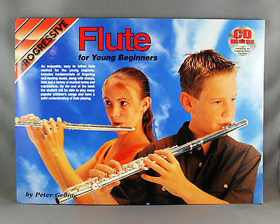 Progressive Flute Method for Young Beginners - Songbook & CD