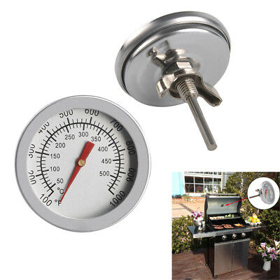 Ofenthermometer BBQ Bratenthermometer Grill Thermometer Gauge 50 - 500°C【DE】
