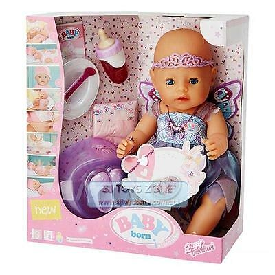 New Zapf Creations Baby Born Interactive Doll - Wonderland With Shimmering Dress