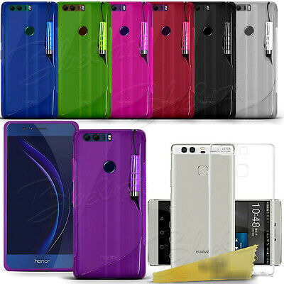 For Huawei Honor Phone Models - Ultra Thin Clear Gel Case Cover Silicone Case