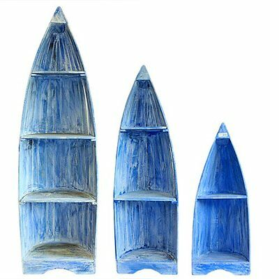 Natural Wood Boat Shelves Choice of Colours and Sizes