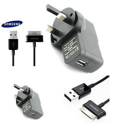 """Universal USB Charger & Genuine cable for Samsung Galaxy Tablet 10.1"""" 7 Tab 2 UK"""