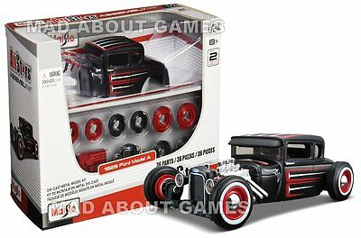 FORD MODEL A 1:24 KIT Scale Diecast Car Model Die Cast Cars Models