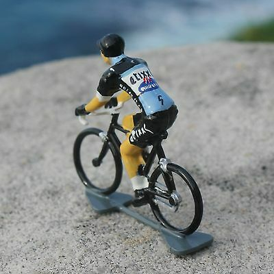 Etixx Quickstep UCI Pro Tour Cycling Figurine - Hand painted in France