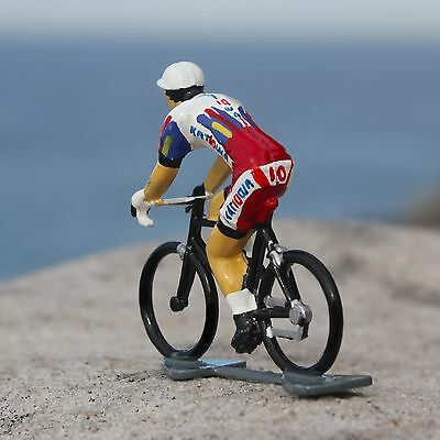 Katusha UCI Pro Tour Cycling Figurine - Hand painted in France