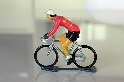 1925 Automoto Cycling Figurine - Hand painted in France
