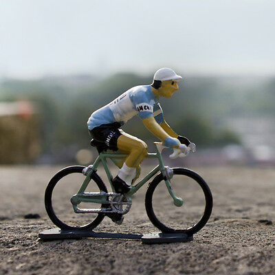 1947 Bianchi Cycling Figurine - Hand painted in France