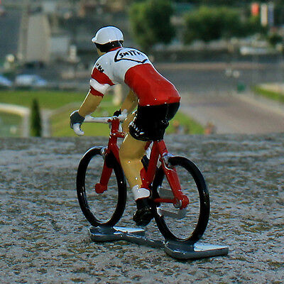 1968 Smiths Cycling Figurine - Hand painted in France