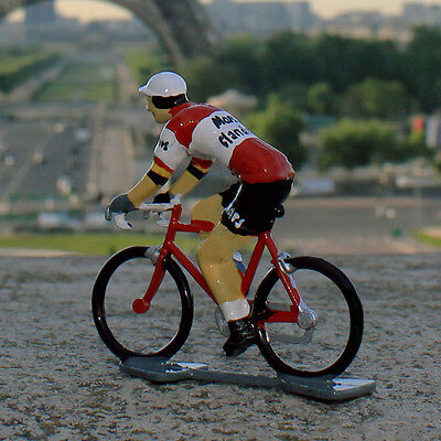 1970 Mars-Flandria Cycling Figurine - Hand painted in France