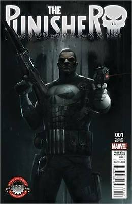 Punisher #1 Limited Edition Comix Exclusive Variant Franceso Mattina 2016 Marvel
