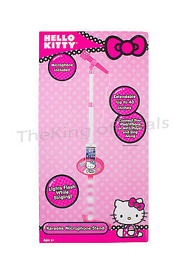 Hello Kitty Microphone Stand w/ Microphone - Pink (19909) -