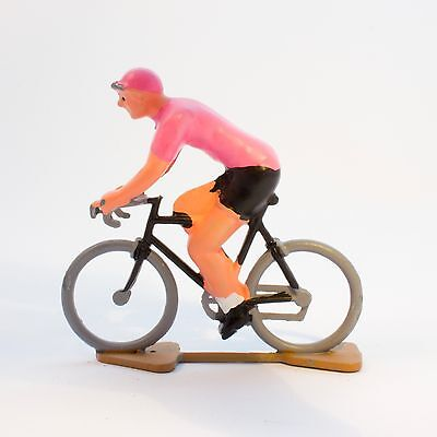 Giro d'Italia Pink Jersey Cycling Figurine - Hand painted in France