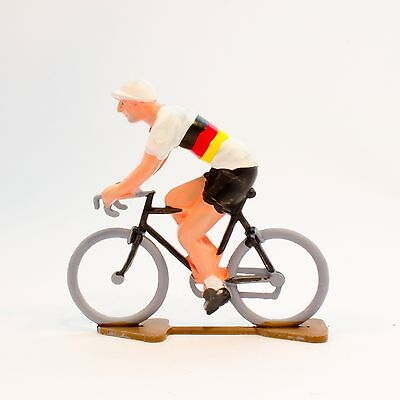 Germany Cycling Figurine - Hand painted in France