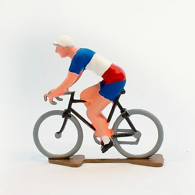 France Cycling Figurine - Hand painted in France