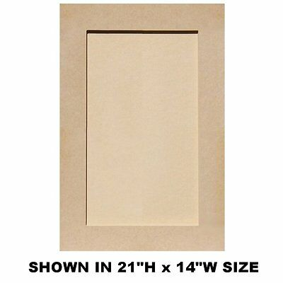 Unfinished Mdf Shaker Cabinet Doors Up To 24 H 1761 Picclick