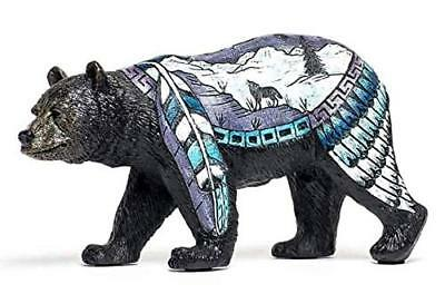 Bear with Wolf Figurine Bear Country Statue Bcwf