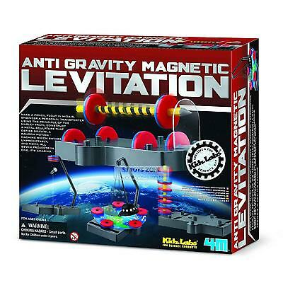 4M Kidz Labs Anti-Gravity Magnetic Levitation Science Experiment Toy DIY Game