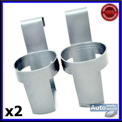 2 Drink Holders For Cans Cups Ideal for Cars Vans Lorrys Trucks Cup Holder Gray