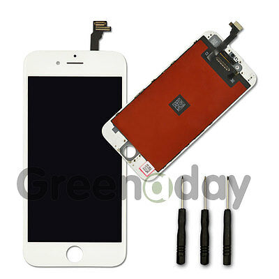 """White For iPhone 6 4.7"""" LCD Touch Display Tools Digitizer Screen Replacement"""