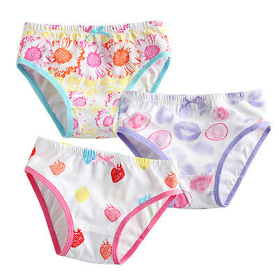"NWT Vaenait Baby Kid Brief Short Underwear Girls Pantie Set ""Bubble berry"" 2T-7T"
