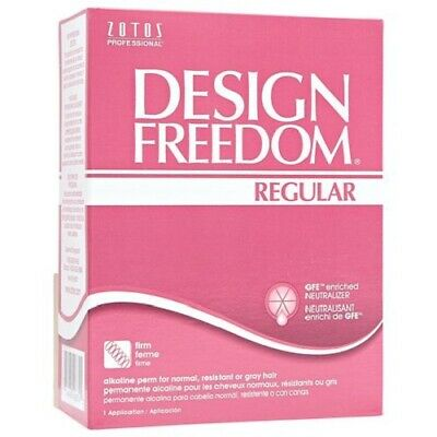 Design Freedom Regular - Firm for normal, resistant or grey hair