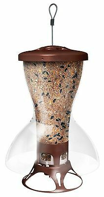Perky-Pet 5109 Fortress Bird Shelter Squirrel Proof Wild Bird Feeder