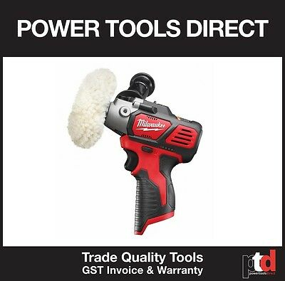 New Milwaukee 12V Cordless M12Bps-0 Polisher Skin Tool Only - Gen Aust Stock